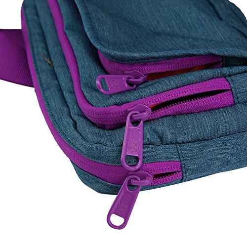 Corinthians Paulista Orignal Design Wasserdicht Unisex Schulter Sling Bag Sport Rucksack ah30b33s003 Blau