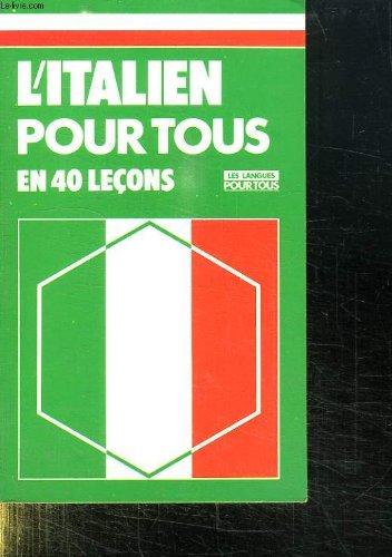 ITALIEN PR TOUS 40 LECONS