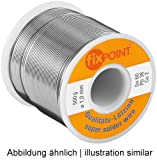 Unbekannt Lötzinn (2 Stück) ø 1,0 mm 100 g Spule Material: L-Sn 60%/Pb 38%/Cu 2%