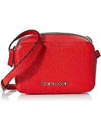 Calvin Klein Damen Ck Must F19 Camerabag Umhängetasche, 12x18x7cm