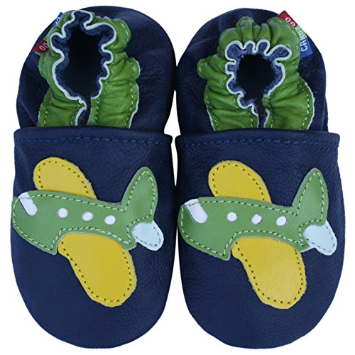 Carozoo Green Airplane Dark Blue 12-18m
