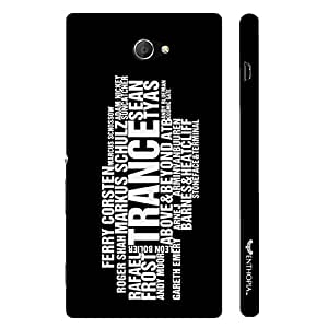 Sony Xperia M2 TRANCE ARSTISTS designer mobile hard shell case by Enthopia
