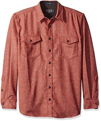 Pendleton Herren Button-down-Hemd Gr. L, rot (Pendleton Wolle Hemd)