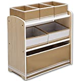 Kinderregal - Standregal - Spielzeugregal - Aufbewahrungsregal 6 Boxen mit Farbauswahl