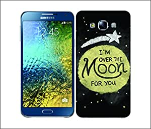 Galaxy Printed 2405 Moon Struck OvertheMoon Hard Cover for Samsung ACE 3 (7272)