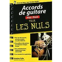 Accords de guitare Pop-Rock pour les Nuls poche