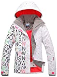 Damen Skijacke warm Jacke gefüttert Winter Jacke Regenjacke APTRO