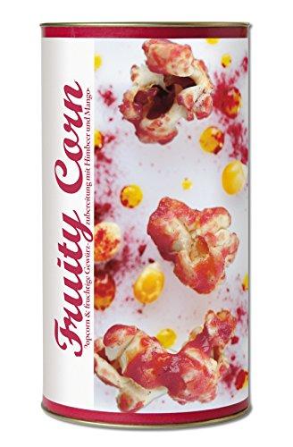 Preisvergleich Produktbild Gourmet Popcorn zum Selber-Backen,  fruchtig süßes Popcorn,  mit Mango und Himbeeren,  Raffinierte Geschenk-Idee,  frisch-duftend,  auch als Party-Snack Fruity Corn von Feuer & Glas 271g