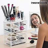 InnovaGoods Organizador de Maquillaje Acrílico - 1 Unidad