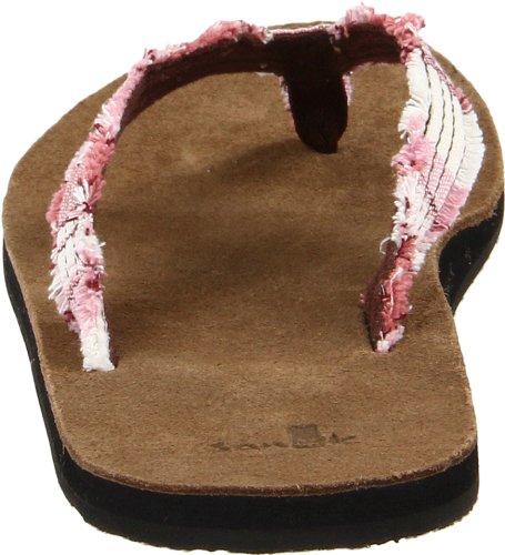 Sanuk Fraidy Cat 29418062, Flip flop donna Rosa (Pink (Pink))