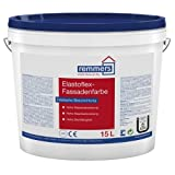Remmers Elastoflex-Fassadenfarbe, weiß - 15 ltr