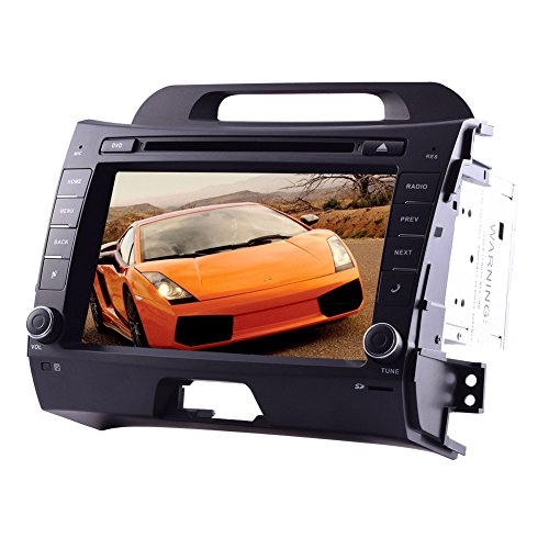 Android 4.4 OS GPS kapazitiver Touchscreen Head Unit 8