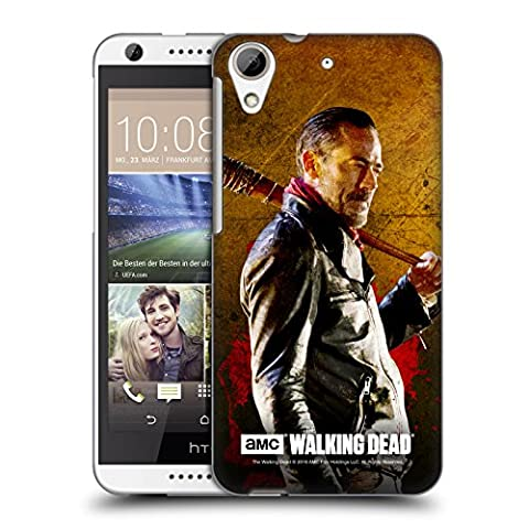 Officiel AMC The Walking Dead Lucille 1 Negan Étui Coque D'Arrière Rigide Pour HTC Desire 626