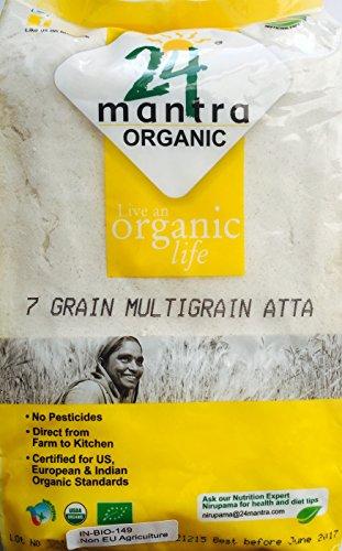Atta Multigrain (7 Grains) Organic 5kg Test