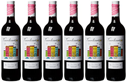 Bodegas Copaboca Fuenteamor Tempranillo Tinto Semi-Dulce Halbtrocken (6 x 0.75 l)