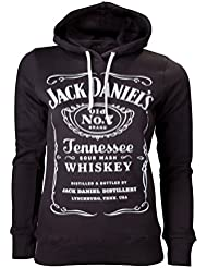 Jack Daniels Hoodie Größe L (large) Damen Kapuzenpullover Girls Sweater Girl-Kapuzenpullo