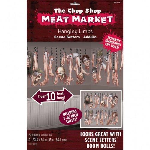 PARTY DISCOUNT NEU Scene Setter Chop Shop 2 Stk. 85 x 165 m