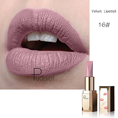 12 Colori Opachi Set Rossetto, Baiomawzh Matte Rossetto Lunga Durata Impermeabile Liquid Lipstick Make Up Revolution Long Lasting Lips Sticks