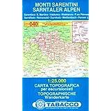 Sarntaler Alpen: Wanderkarte Tabacco 040. 1:25000 (Cartes Topograh)