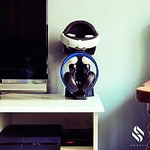 smaart® Playstation VR Support & Recharge Station | La station accueil parfaite pour le stockage de votre casque VR et accessoires (2 Manettes Dual Shock + 2 Playstation Move) | Inclus: un adaptateur à connection rapide et affichage LED pour l'indication de l'état de charge. Un PlayStation VR de qualité pour vous avec tous ses accessoires de qualité comme playstation vr jeux pour ne citer que cela !