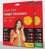 Quick Heal Gadget Securance Latest Version Plan 599 Handset/Tablet Coverage Less Than Rs 10000 (CD)