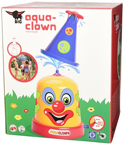 Big, 800076548, le Clown Arroseur, Jeu d'Eau, Jeu de Plein Air