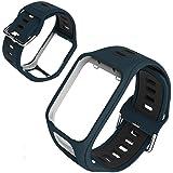 GoGlor Bracelet Tomtom pour Tomtom Adventurer Runner 3 Runner 2 Spark 3 Golfer 2 GPS Montre Smartwatch, Conception Poreuse Pr