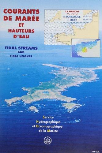 Carte marine : Courants des marées, Manche