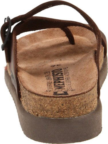 Mephisto Womens Helen Leather Sandals Brown