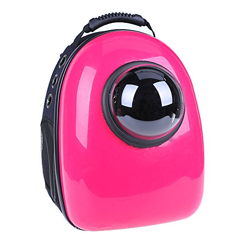 u-pet-patent-bubble-rose-portable-dog-cat-pet-front-carrier-backpack-for-outdoor-travel-hiking