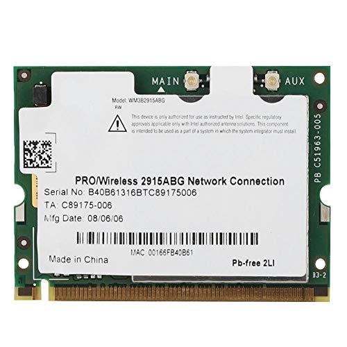 Pokerty Wireless LAN Netzwerkkarte, Intel 2915ABG 54M Dual Band 2.4G / 5G Wireless LAN Netzwerkkarte für Win2000 / XP/Vista Intel Wifi Link