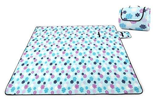 plage extérieure coussin élargi épaissie mat double pique-nique en daim imperméable à l'eau (200 * 150cm) ( couleur : #4 )