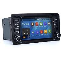 SYGAV Android 5.1.1Lollipop auto stereo CD Lettore DVD per Audi A3S32003–2013con Wi-Fi, Bluetooth, radio 2DIN 7pollici Quad Core 1024X 600in-dash GPS Sat navigazione