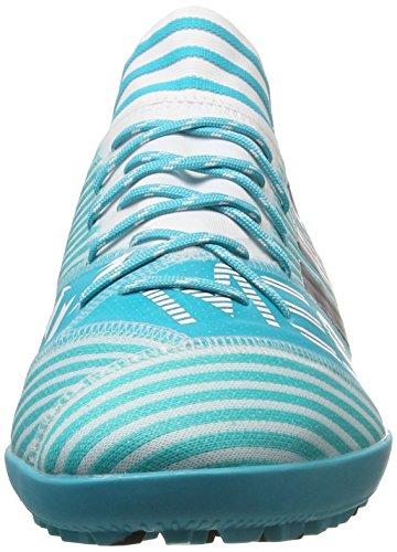 adidas Herren NEMEZIZ Messi Tango 17.3 TF Fußballschuhe Blau (Footwear White/Legend Ink/Energy Blue)