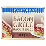 Plumrose Bacon Grill Bacon Roll 12 x 250g