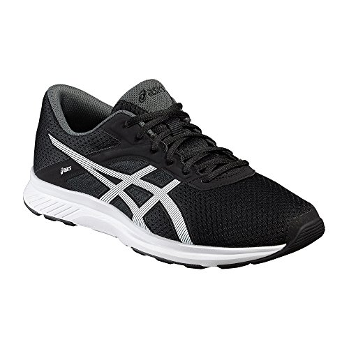 asics-fuzor-mens-running-shoes-color-black-white-shoe-size-85-uk