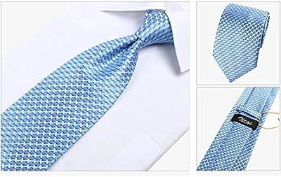 Zicac Corbata Elegante de Hombre para Banquete y Boda Formal