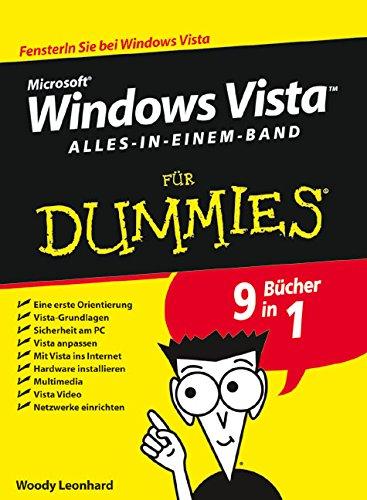 Windows Vista für Dummies, Alles-in-einem-Band (Dummies Für Vista Windows Buch)