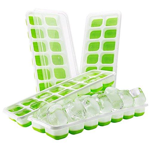 Heguowei Ce Box Silikon Eiswürfelform, Baby-Food-Box, Eisbox Eismaschine Cryo Box Silikon Schokoladenform Jelly Ice Box Jelly-thermometer