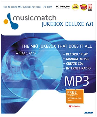 Pearson software 0712692954881 Musicmatch Jukebox 6 0 Deluxe