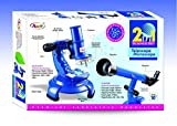 2 in 1 Science Kit Telescope & Microscope Kiddy Set Annie Kids Educational