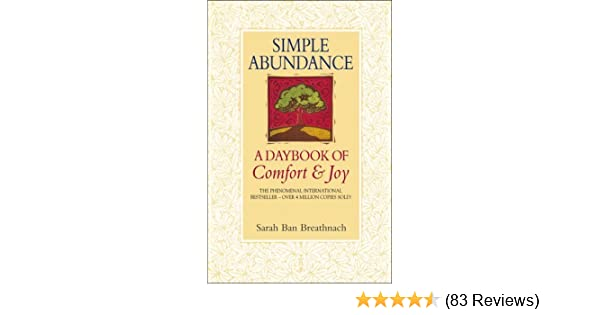 A Daybook of Comfort and Joy Simple Abundance