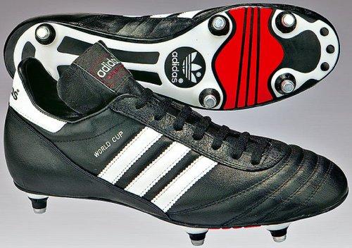 Adidas World Cup, Scarpe da Calcio Uomo, Nero (Negro/Ftwbla 000), 48 EU