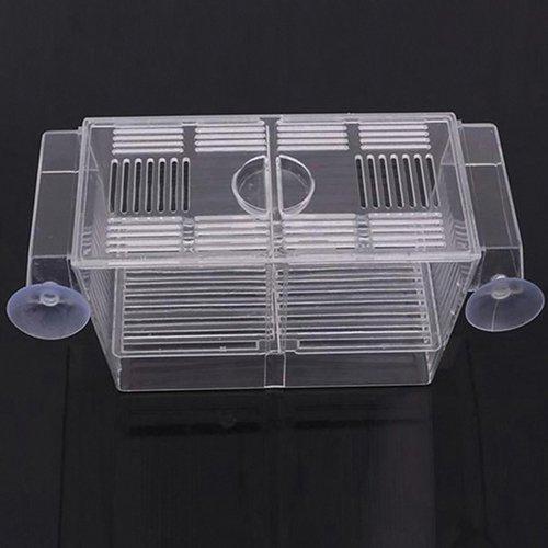 tianxiangjjeu Fischzuchtbox, selbstansaugendes Design, mit Saugnapf, für Aquarien
