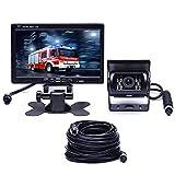 Car F0505 Monitor HD 7 pollici LED for auto 18 pollici IR Telecamera di backup, con cavo da 10m + ALTA QUALITÀ