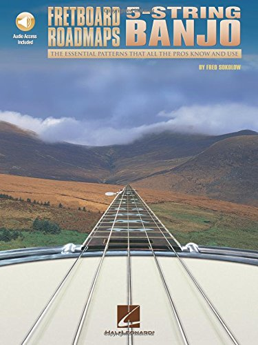 Fretboard Roadmaps 5-String Banjo (Sokolow) (Book & CD): Noten, CD für Banjo