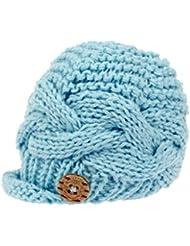 bestknit Baby Boy Knit Brimmed recién nacido fotografía Gorra