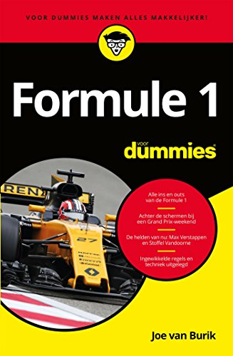 Formule 1 voor dummies (Dutch Edition)