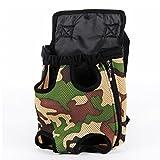 HOOPET® flexible design Pet Backpack Hundetragetasche Camouflage L