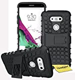 LG G5 Handy Tasche, FoneExpert® Hülle Abdeckung Cover schutzhülle Tough Strong Rugged Shock Proof Heavy Duty Case für LG G5 + Displayschutzfolie